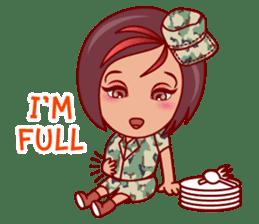 Gigi The Pretty World Soldier (EN) sticker #5765478