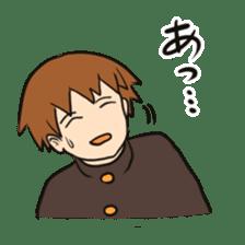 school boy 2 sticker #5772434