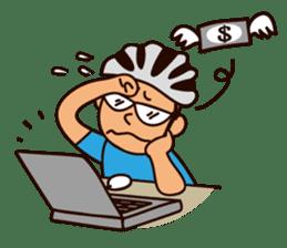 I Love Bicycle! sticker #5781153