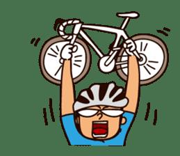 I Love Bicycle! sticker #5781157