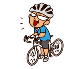 I Love Bicycle! sticker #5781158