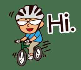 I Love Bicycle! sticker #5781161