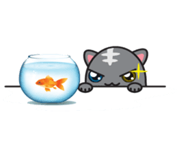 minicat sticker #5782510