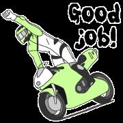 สติ๊กเกอร์ไลน์ Cool Rider