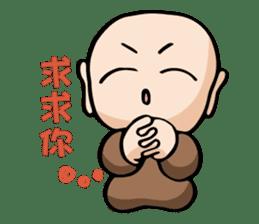 Little Monk (Part One) sticker #5784106