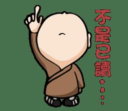 Little Monk (Part One) sticker #5784109