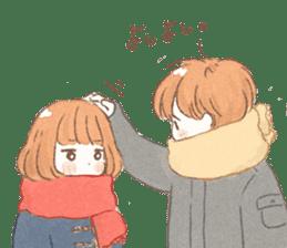 Boy and girl Sticker sticker #5784394