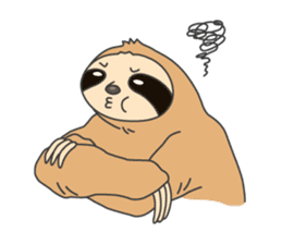 The sloth family sticker #5787897