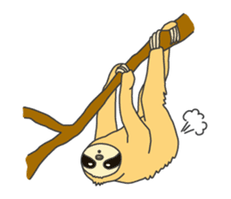 The sloth family sticker #5787900