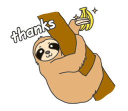 The sloth family sticker #5787901