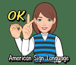 American Sign Language Vol.1 sticker #5789445