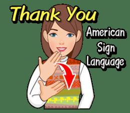 American Sign Language Vol.1 sticker #5789446