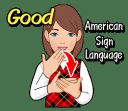 American Sign Language Vol.1 sticker #5789447