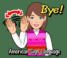 American Sign Language Vol.1 sticker #5789448