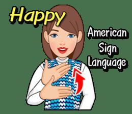 American Sign Language Vol.1 sticker #5789449