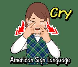 American Sign Language Vol.1 sticker #5789452