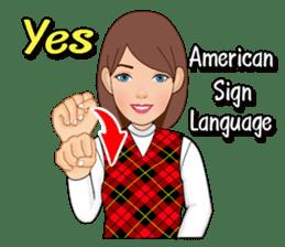American Sign Language Vol.1 sticker #5789453