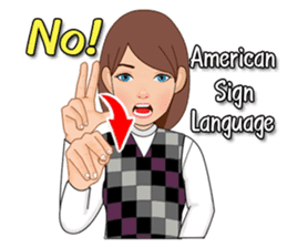 American Sign Language Vol.1 sticker #5789454