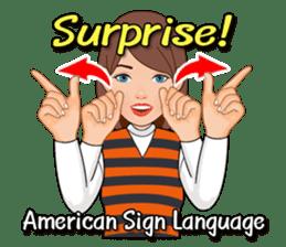 American Sign Language Vol.1 sticker #5789455