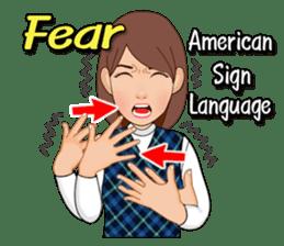American Sign Language Vol.1 sticker #5789456