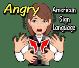 American Sign Language Vol.1 sticker #5789457