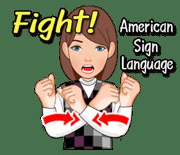 American Sign Language Vol.1 sticker #5789458
