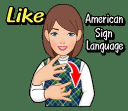 American Sign Language Vol.1 sticker #5789459