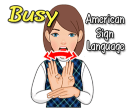 American Sign Language Vol.1 sticker #5789460