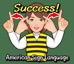American Sign Language Vol.1 sticker #5789461