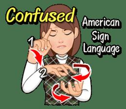 American Sign Language Vol.1 sticker #5789462