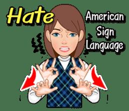 American Sign Language Vol.1 sticker #5789463