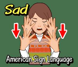 American Sign Language Vol.1 sticker #5789466