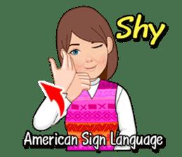 American Sign Language Vol.1 sticker #5789467