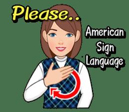 American Sign Language Vol.1 sticker #5789472