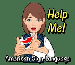 American Sign Language Vol.1 sticker #5789473