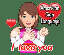 American Sign Language Vol.1 sticker #5789474