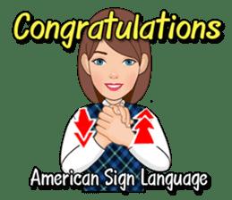 American Sign Language Vol.1 sticker #5789475