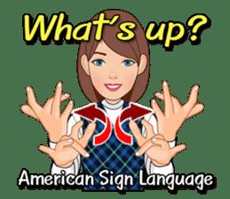 American Sign Language Vol.1 sticker #5789476