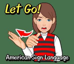 American Sign Language Vol.1 sticker #5789477