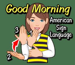 American Sign Language Vol.1 sticker #5789478