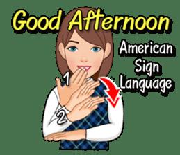 American Sign Language Vol.1 sticker #5789479