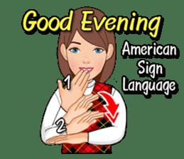 American Sign Language Vol.1 sticker #5789480