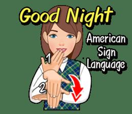 American Sign Language Vol.1 sticker #5789481