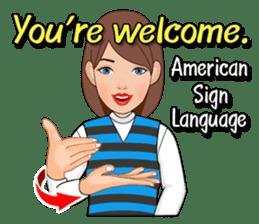 American Sign Language Vol.1 sticker #5789483