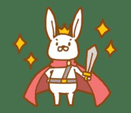 Brave rabbit (EN) sticker #5789724