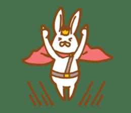 Brave rabbit (EN) sticker #5789725