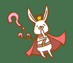 Brave rabbit (EN) sticker #5789726