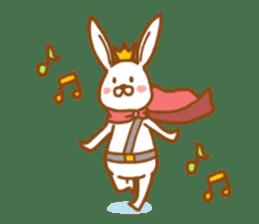Brave rabbit (EN) sticker #5789730