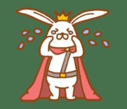 Brave rabbit (EN) sticker #5789732