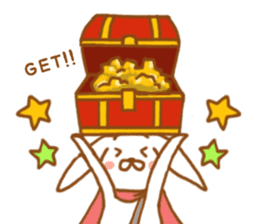 Brave rabbit (EN) sticker #5789736